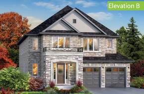 Glen Abbey Elevation B model home in
