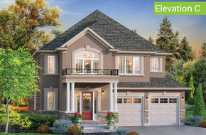 Glen Abbey Elevation C model home in