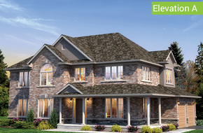 Norfolk Elevation A model home in