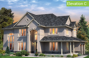 Norfolk Elevation C model home in