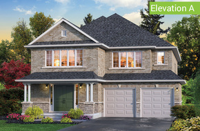 Ridgemont Elevation A model home in