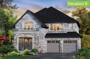 Ridgemont Elevation B model home in