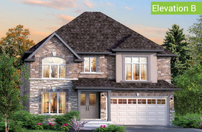 Florentine Elevation B (4 or 5 bed) model home in