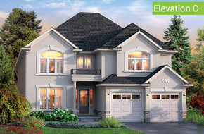 Windsor Elevation C (4 or 5 bed) model home in