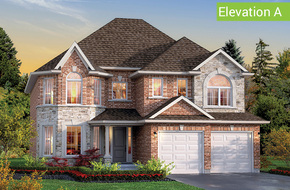 Windsor Elevation A (4 or 5 bed) model home in