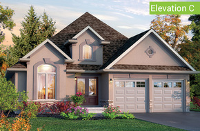 Cambridge Elevation C model home in