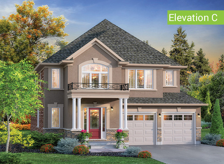Glen Abbey Elevation C property view 1