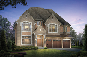 Rockwood  model home in