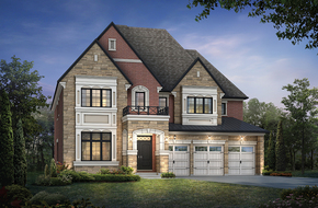 Wildwood  model home in