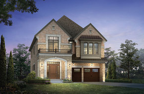 Silver Creek I  model home in