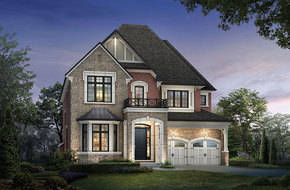 Belfountain I  model home in