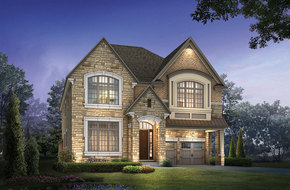 Kortright I model home in