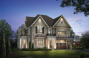 Kortright I Corner I  model home in