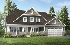 Maple  model home in