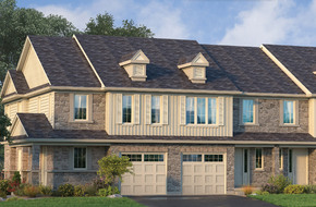 The Rousseau Special End model home in