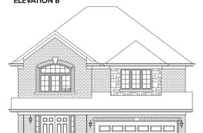 The Sandalwood II B 4 bed model home in
