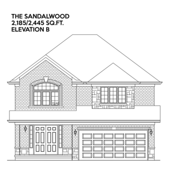 The Sandalwood II B 4 bed property view 1