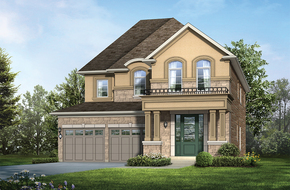 Diamond A model home in