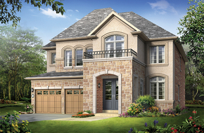 Lustre A model home in