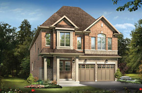 The Arthur A model home in