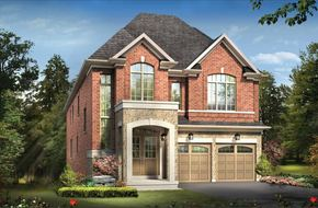 The Arthur B model home in