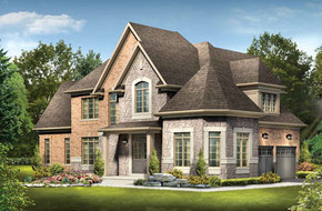 The Edmond  model home in