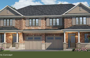 The Oxford 1&2 model home in