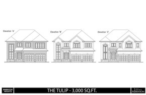 The Tulip A model home in