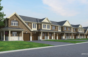 Cherrywood Gold model home in