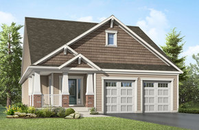 Chestnut  model home in