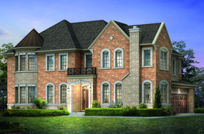 Cedar Creek I Corner model home in