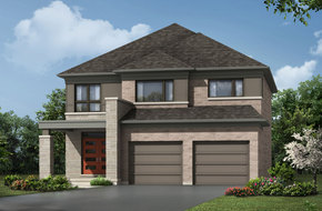 Bellcrest model home in