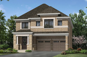 Riverstone model home in