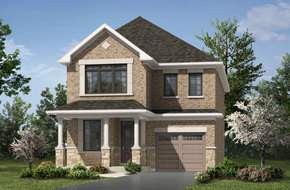 Stockton model home in
