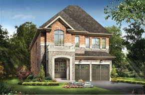 The Andrew B model home in