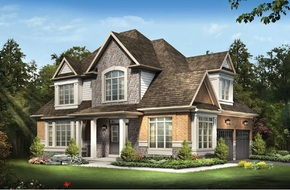 The Alfred A model home in