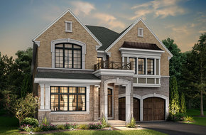 Meadowvale model home in
