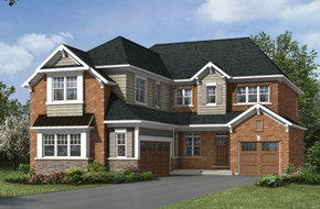 Brucedale model home in