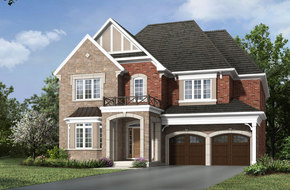 Devonwood model home in