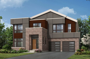 Haldimand model home in