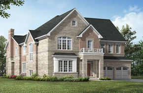 Merlin Corner model home in