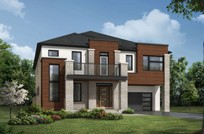 Wainfleet model home in