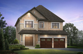 Belwood Lake model home in