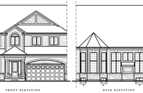 Redwood Two Storey - Bungaloft model home in