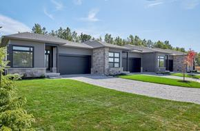 Lot 22 model home in