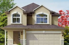 The Dove Lot 80 model home in