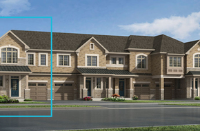 Greenwood End model home in
