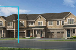 Pinegrove End model home in