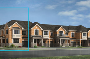 Whitburn Corner model home in