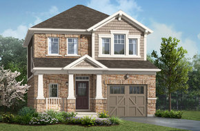 Arlington model home in
